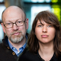 Hróbjartur Árnason og Elsa Eiríksdóttir