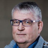 Portrett af Hreini Pálssyni, prófstjóra Háskóla Íslands