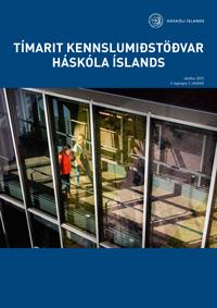 Forsíða Tímarits Kennslumiðstöðvar Háskóla íslands árið 2015, 4. árgang, 1. tölublað
