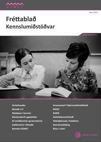 Forsíða Fréttablaðs Kennslumiðstöðvar Háskóla Íslands, árið 2013, 2 árgangur, 1. tölublað